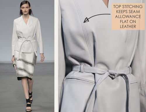 Simple Details at Helmut Lang | The Cutting Class. Helmut Lang, SS14, Image 1