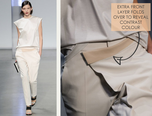 Simple Details at Helmut Lang | The Cutting Class. Helmut Lang, SS14, Image 3