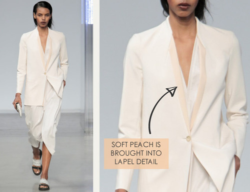 Simple Details at Helmut Lang | The Cutting Class. Helmut Lang, SS14, Image 5