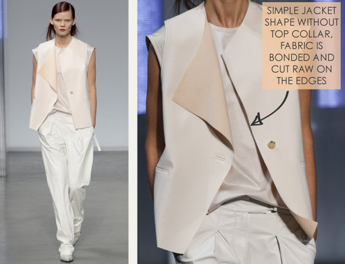 Simple Details at Helmut Lang | The Cutting Class. Helmut Lang, SS14, Image 7