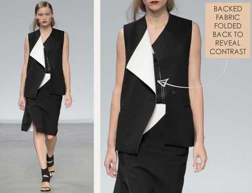 Simple Details at Helmut Lang | The Cutting Class. Helmut Lang, SS14, Image 11