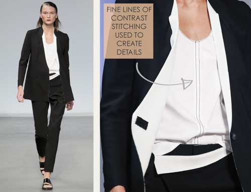 Simple Details at Helmut Lang | The Cutting Class. Helmut Lang, SS14, Image 12