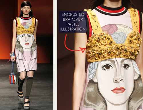 Bra Cups and Sequins the Prada Way | The Cutting Class. Prada, SS14, Image 3