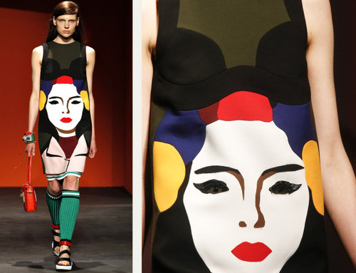 Bra Cups and Sequins the Prada Way | The Cutting Class. Prada, SS14, Image 9