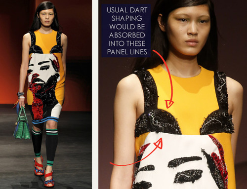Bra Cups and Sequins the Prada Way | The Cutting Class. Prada, SS14, Image 12