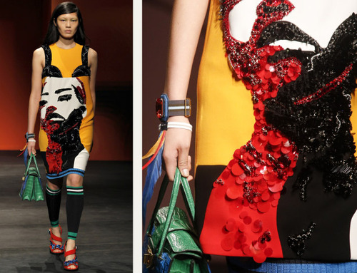 Bra Cups and Sequins the Prada Way | The Cutting Class. Prada, SS14, Image 13