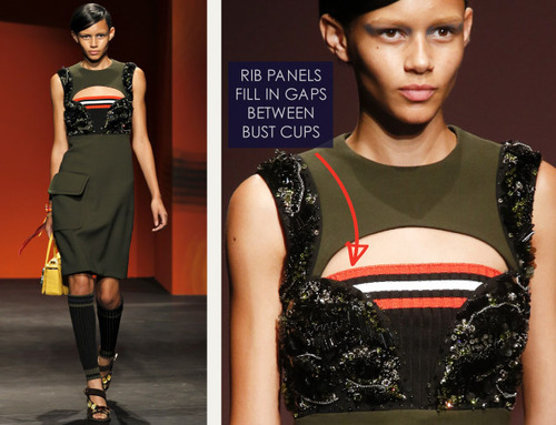 Bra Cups and Sequins the Prada Way | The Cutting Class. Prada, SS14, Image 14