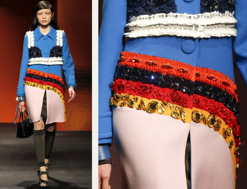 Bra Cups and Sequins the Prada Way | The Cutting Class. Prada, SS14, Image 19