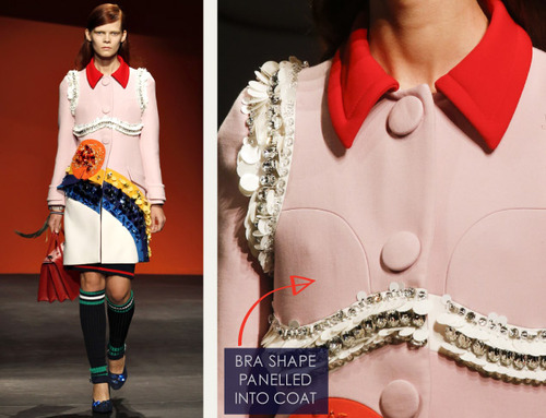 Bra Cups and Sequins the Prada Way | The Cutting Class. Prada, SS14, Image 20