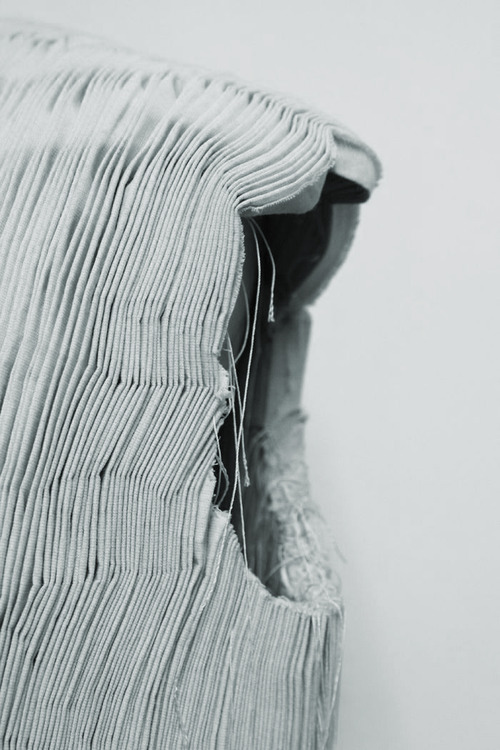 Contemporary Smocking Techniques | The Cutting Class. Vertical Smocking.