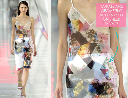 Simulated Patchwork Details at Preen | The Cutting Class. Preen, SS14, Image 4.
