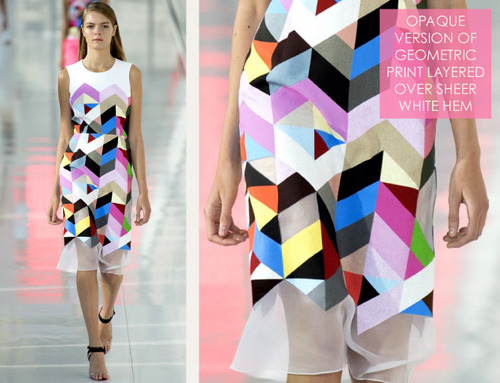 Simulated Patchwork Details at Preen | The Cutting Class. Preen, SS14, Image 6.