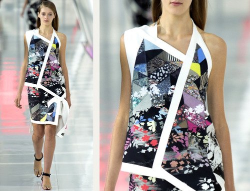 Simulated Patchwork Details at Preen | The Cutting Class. Preen, SS14, Image 11.