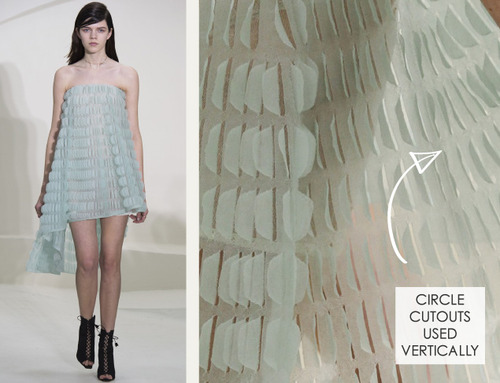 Ethereal Fabrics at Dior Couture | The Cutting Class. Christian Dior, Couture, SS14, Paris. Image 8.
