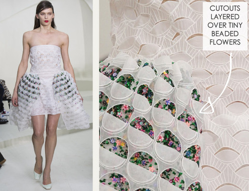 Ethereal Fabrics at Dior Couture | The Cutting Class. Christian Dior, Couture, SS14, Paris. Image 10.