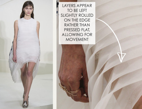 Ethereal Fabrics at Dior Couture | The Cutting Class. Christian Dior, Couture, SS14, Paris. Image 14.