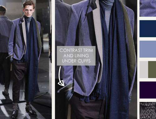 Textured Layering at Haider Ackermann | The Cutting Class. Haider Ackermann, AW14, Menswear, Image 2.