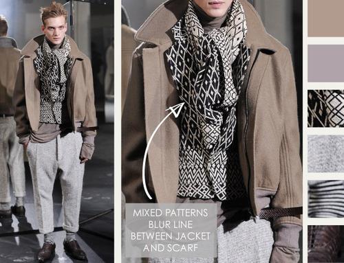 Textured Layering at Haider Ackermann | The Cutting Class. Haider Ackermann, AW14, Menswear, Image 3.