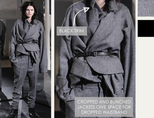 Textured Layering at Haider Ackermann | The Cutting Class. Haider Ackermann, AW14, Menswear, Image 8.