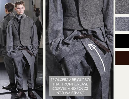Textured Layering at Haider Ackermann | The Cutting Class. Haider Ackermann, AW14, Menswear, Image 9.