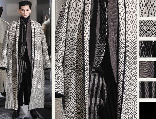 Textured Layering at Haider Ackermann | The Cutting Class. Haider Ackermann, AW14, Menswear.