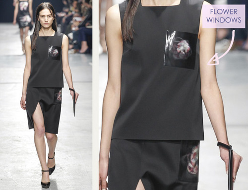 9 Collections in 1 at Christopher Kane | The Cutting Class. Christopher Kane, AW14, London, Image 12.