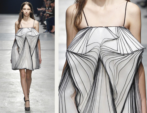 9 Collections in 1 at Christopher Kane | The Cutting Class. Christopher Kane, AW14, London, Image 26.
