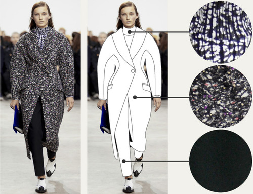 Separating Pattern from Cut at Proenza Schouler | The Cutting Class. Proenza Schouler, AW14, New York, Image 1.