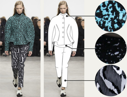 Separating Pattern from Cut at Proenza Schouler | The Cutting Class. Proenza Schouler, AW14, New York, Image 4.