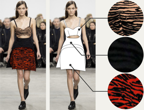 Separating Pattern from Cut at Proenza Schouler | The Cutting Class. Proenza Schouler, AW14, New York, Image 5.
