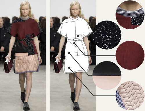 Separating Pattern from Cut at Proenza Schouler | The Cutting Class. Proenza Schouler, AW14, New York, Image 7.
