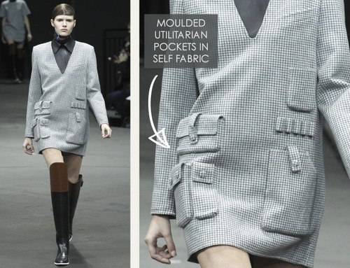 Thermal Colour Change at Alexander Wang   The Cutting Class. Alexander Wang, AW14, New York, Image 1.