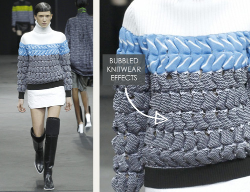 Thermal Colour Change at Alexander Wang   The Cutting Class. Alexander Wang, AW14, New York, Image 4.