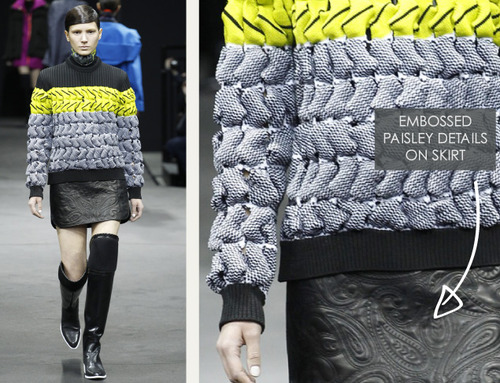 Thermal Colour Change at Alexander Wang   The Cutting Class. Alexander Wang, AW14, New York, Image 5.