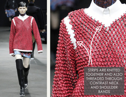 Thermal Colour Change at Alexander Wang   The Cutting Class. Alexander Wang, AW14, New York, Image 8.