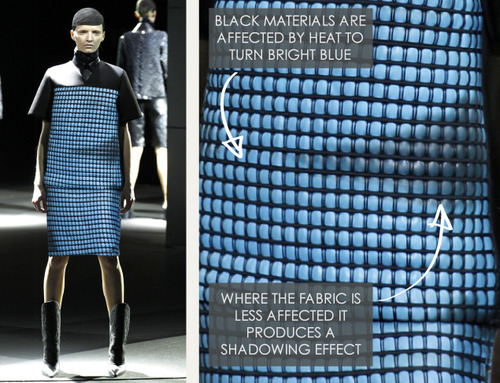 Thermal Colour Change at Alexander Wang   The Cutting Class. Alexander Wang, AW14, New York, Image 10.