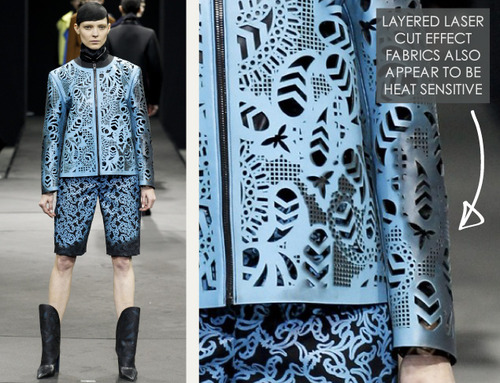 Thermal Colour Change at Alexander Wang   The Cutting Class. Alexander Wang, AW14, New York, Image 13.