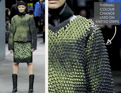 Thermal Colour Change at Alexander Wang   The Cutting Class. Alexander Wang, AW14, New York, Image 14.