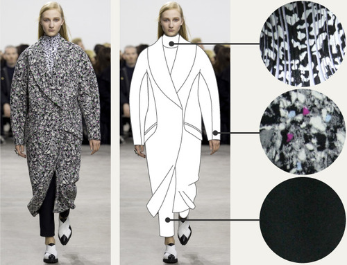 Separating Pattern from Cut at Proenza Schouler | The Cutting Class. Proenza Schouler, AW14, New York.