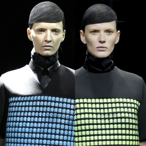 Thermal Colour Change at Alexander Wang   The Cutting Class. Alexander Wang, AW14, New York.