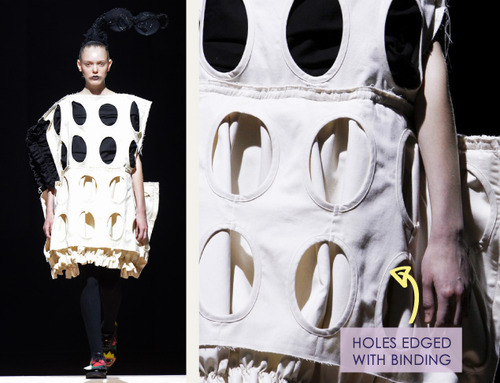 Woven Panels and Bursting Ruffles at Comme des Garçons | The Cutting Class. Comme des Garçons, SS14, Paris, Image 14.