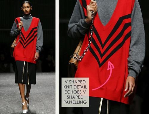 Contrast Binding and Organza Layering at Prada | The Cutting Class. Prada, AW14, Milan, Image 14.