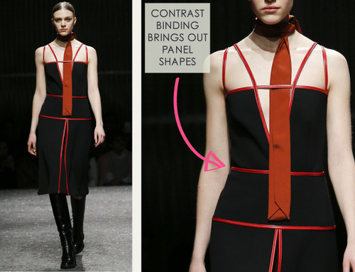 Contrast Binding and Organza Layering at Prada | The Cutting Class. Prada, AW14, Milan, Image 15.