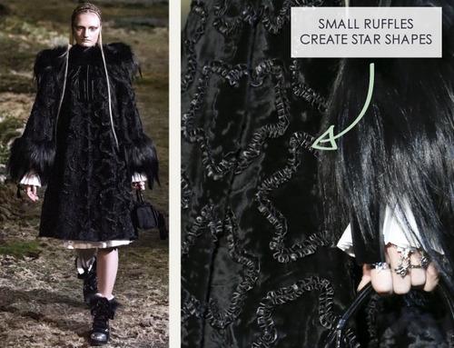 Fairytale Fabrics at Alexander McQueen | The Cutting Class. Alexander McQueen, AW14, Paris, Image 1.