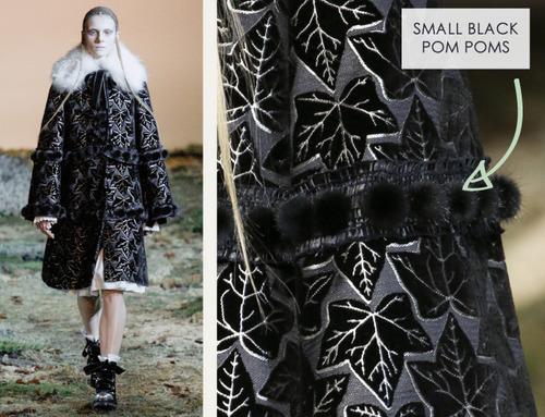 Fairytale Fabrics at Alexander McQueen | The Cutting Class. Alexander McQueen, AW14, Paris, Image 3.