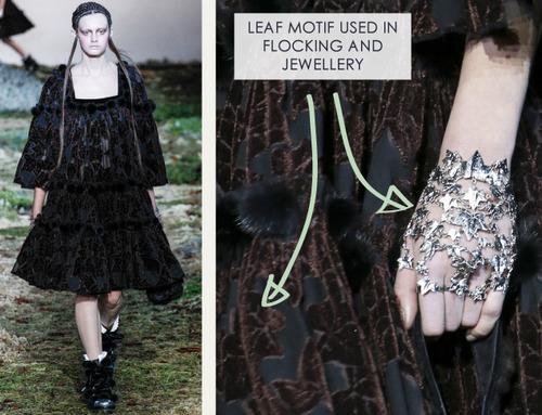 Fairytale Fabrics at Alexander McQueen | The Cutting Class. Alexander McQueen, AW14, Paris, Image 4.