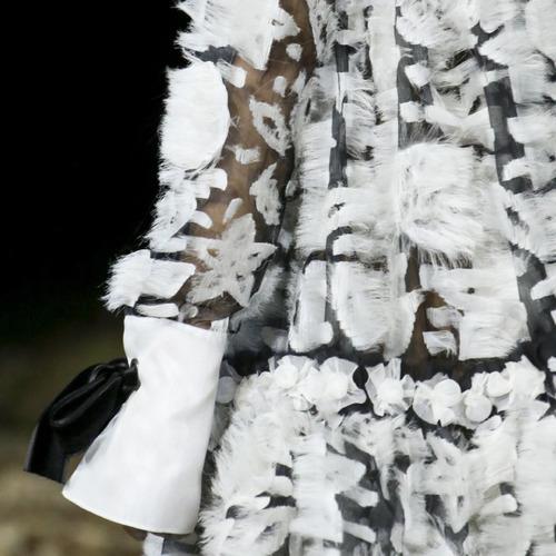 Fairytale Fabrics at Alexander McQueen | The Cutting Class. Alexander McQueen, AW14, Paris, Image 7.