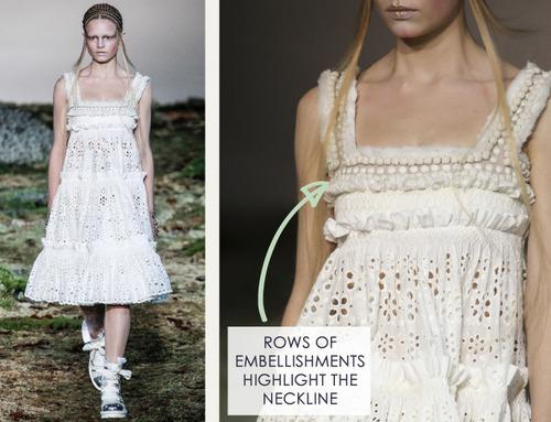 Fairytale Fabrics at Alexander McQueen | The Cutting Class. Alexander McQueen, AW14, Paris, Image 8.