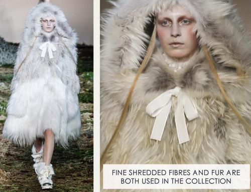 Fairytale Fabrics at Alexander McQueen | The Cutting Class. Alexander McQueen, AW14, Paris, Image 10.