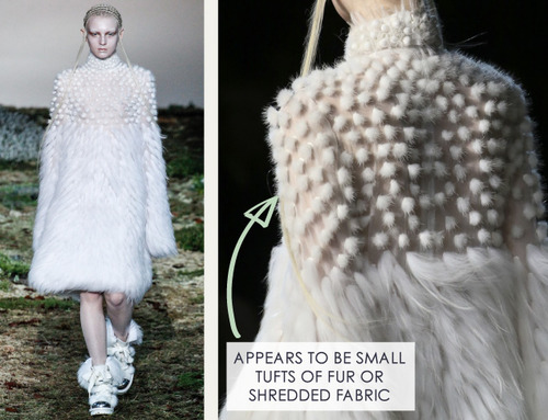 Fairytale Fabrics at Alexander McQueen | The Cutting Class. Alexander McQueen, AW14, Paris, Image 11.